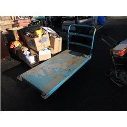 Heavy Duty 6 Wheel Metal Cart