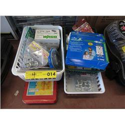 Socket Set, Electrical Supplies, Screws & More