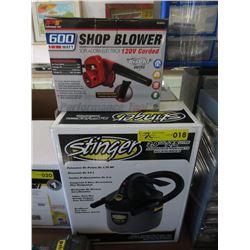 Stinger Shop Vac & Shop Blower