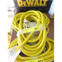 New 25 Foot Heavy Duty Multi Outlet Extension Cord