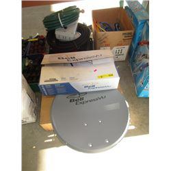 Satellite Receiver & Dish