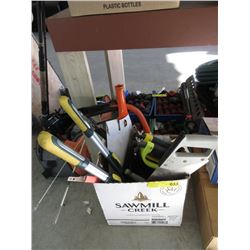 Box of Tree Pruning and Garden Tools