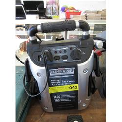 Eliminator Battery Booster Pac & Air Compressor