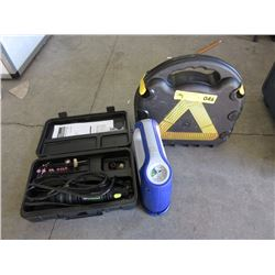 Rotary Tool Grinder & Two12volt Compressors