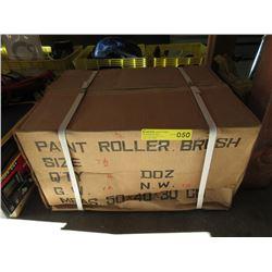 """Case of 4 Dozen 7-1/2"""" Paint Roller Brushes"""