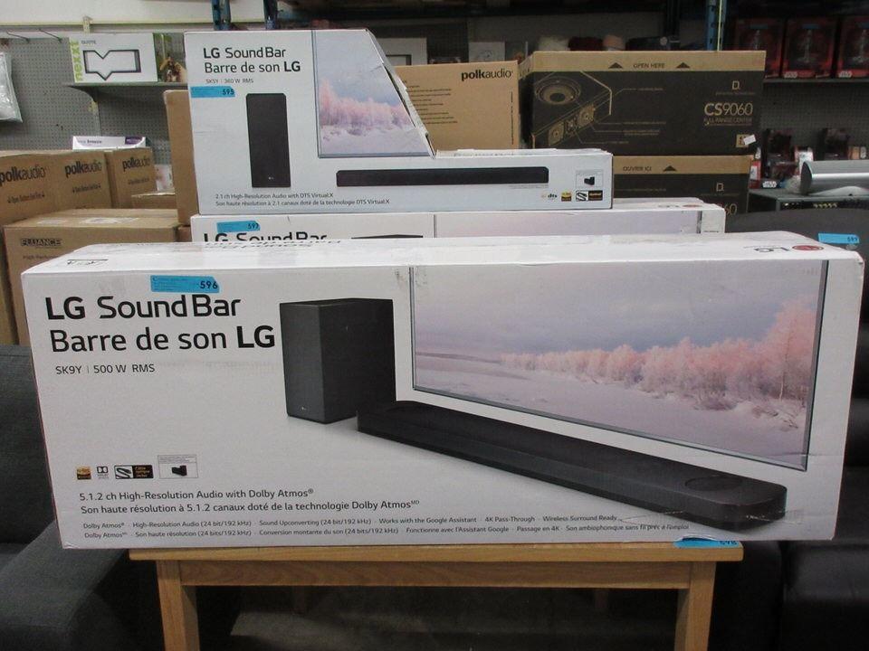 New LG SK9Y | 500 W RMS Sound Bar
