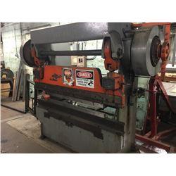 2062 VERSON 6-1/2' x 45 Ton Mech Press Brake