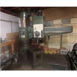 5' Supermax HRD-1600H Radial Drill *VIDEO AVAILABLE*