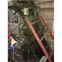 "#0 BUFFALO 38 Ton 3""x 3""x 3/8"" Mechanical Ironworker *VIDEO AVAILABLE*"