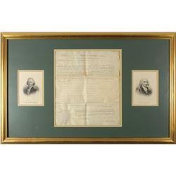 Thomas Jefferson and James Madison