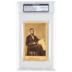 Abraham Lincoln (PSA/DNA GEM MINT 10)