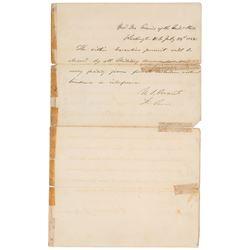 Andrew Johnson and U. S. Grant