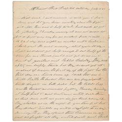 William A. Bartlett: Gettysburg