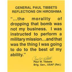 Enola Gay: Paul Tibbets