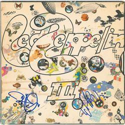 Led Zeppelin: Robert Plant and John Paul Jones