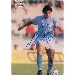 Pele and Diego Maradona