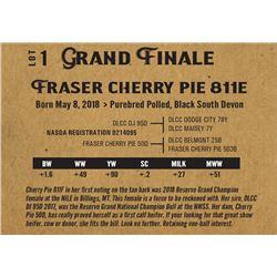 Fraser cherry pie 811e