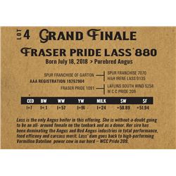 Fraser pride lass 880