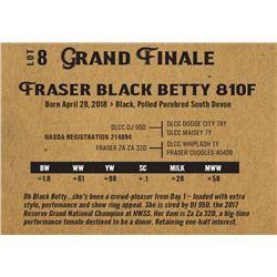 Fraser black betty 810f