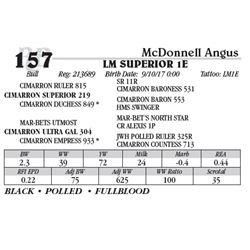 Lot 157 - LM SUPERIOR 1E