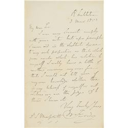 Michael Faraday Autograph Letter Signed