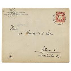 Wilhelm Rontgen Hand-Addressed Envelope