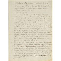 Joseph Guillotin Document Signed