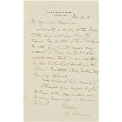 William W. Keen Autograph Letter Signed