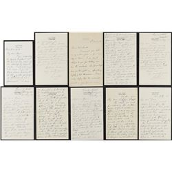 Joseph Lister Group of (7) Autograph Letters Signed