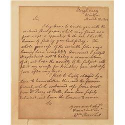 William Herschel Autograph Letter Signed