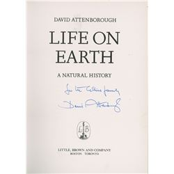 David Attenborough Signed Book