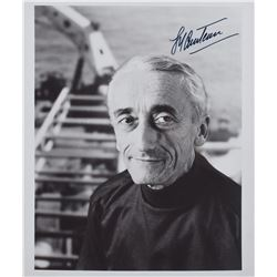 Jacques Cousteau Signed Photograph