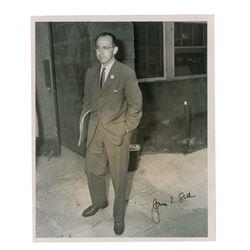 Jonas Salk Signed Photograph