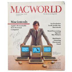 Steve Jobs Signed Macworld Magazine