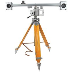 JPL Carl Zeiss SMK 120 Stereo Photogrammetry Camera and Tripod