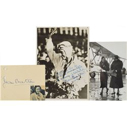 Jean Batten Signed Photo and Signature