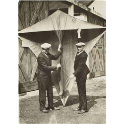 Clarence Chamberlin and Lloyd W. Bertaud Original Photograph