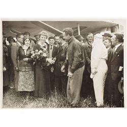 Amelia Earhart Original Photograph