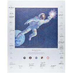 Astronauts Signed Print
