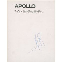 Neil Armstrong Signed Book