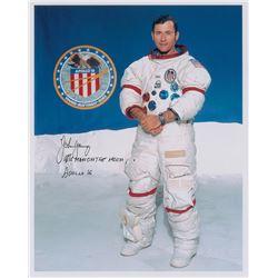 John Young Signed Photograph
