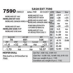 5ASH EXT 7590