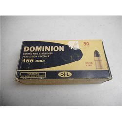 455 COLT DOMINION AMMO
