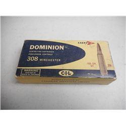 308 WINCHESTER DOMINION AMMO