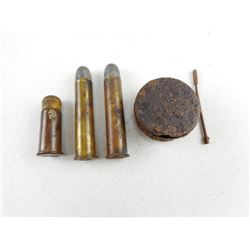 CIVIL WAR AMMO AND TIN