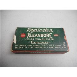 REMINGTON .25-35 WIN EXPRESS AMMO