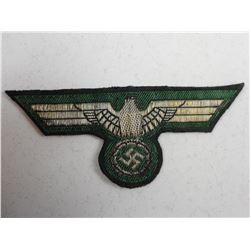 GERMAN WWII ARMY OFFICER'S BREAST EAGLE