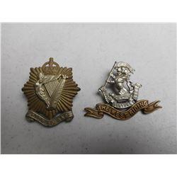 BRITISH AND CANADIAN WWI/II CAP/COLLAR BADGES