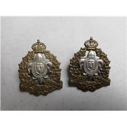 LE REGIMENT DE MAISONNEUVE CAP/COLLAR BADGES