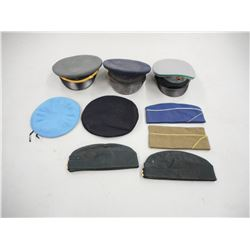 ASSORTED MILITARY HAT